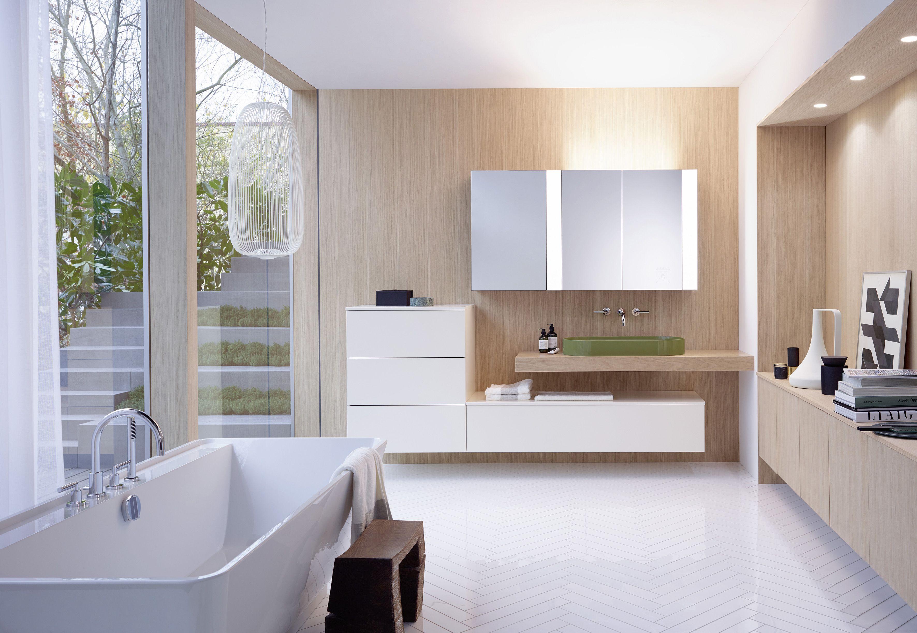 Licht im Bad: So sorgt der Spiegelschrank für Entspannung oder