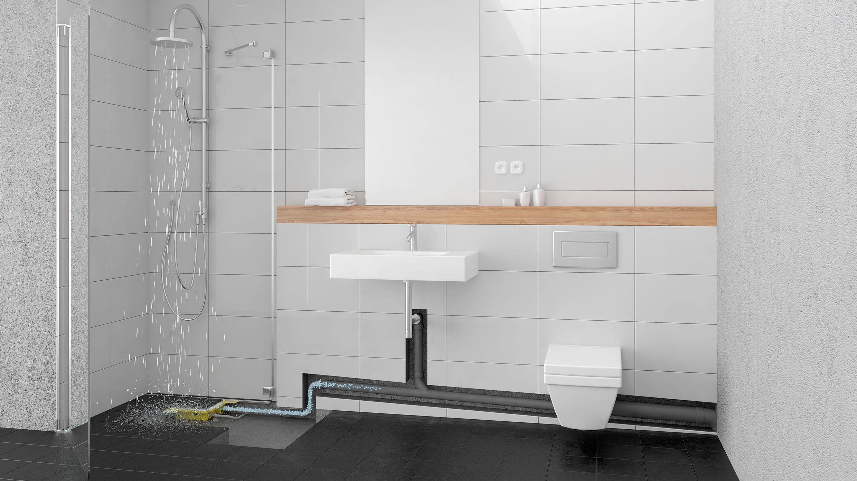 Bodengleiche Duschen Im Altbau So Fliesst Abwasser Bergauf Haustec
