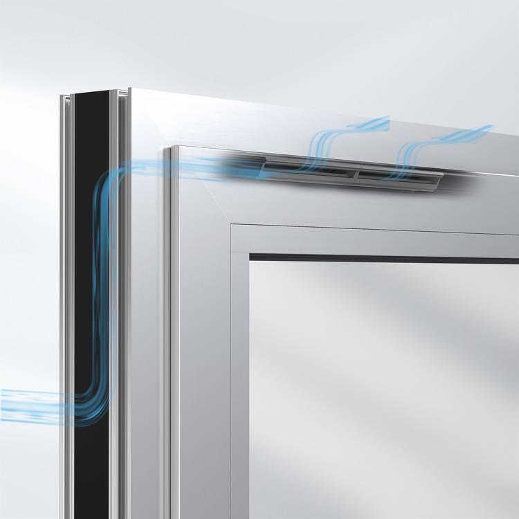 Beliebt Selbstregulierende Fensterlüfter VentoFrame und VentoAir von LR64