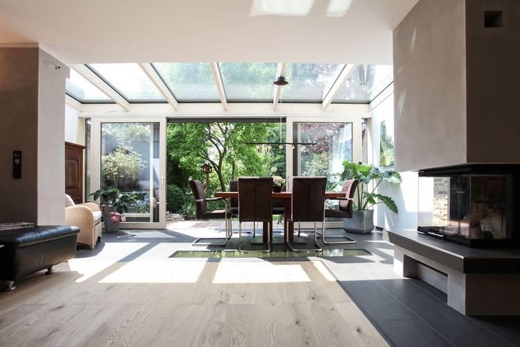 wie winterg rten den vorhandenen wohnraum erweitern haustec. Black Bedroom Furniture Sets. Home Design Ideas