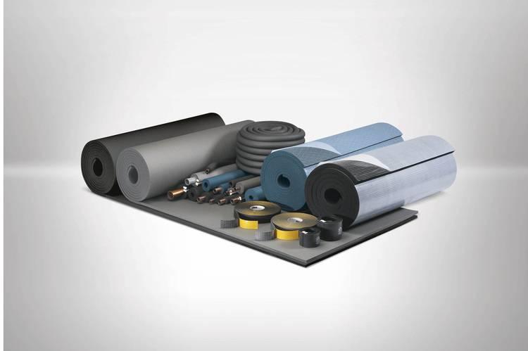 Die staub- und faserfreien Produkte von Armacell werden als Schlauch- und Plattenmaterial angeboten.