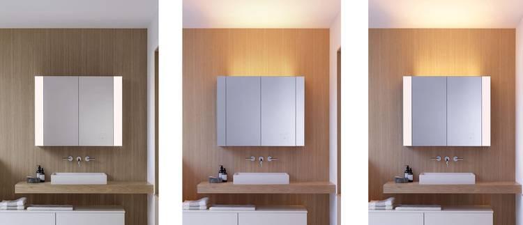 Licht im Bad: So sorgt der Spiegelschrank für Entspannung ...