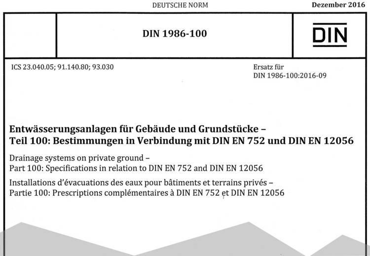 Super DIN 1986-100: Balkone und Loggien richtig entwässern - Haustec SW27