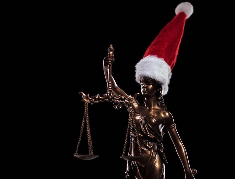 Um Weihnachten.Heikler Jahreswechsel Skurrile Streitfälle Rund Um Weihnachten Und