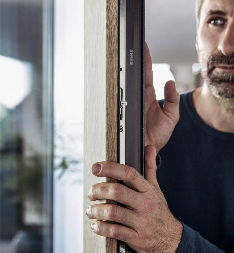 Beliebt Rehau: Kaleido Woodec bringt Holzoptik aufs Fenster   Haustec YP47