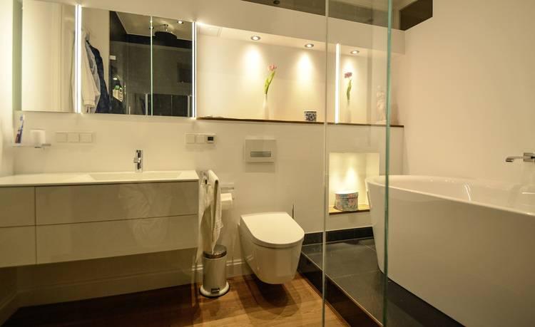 5 Beispiele für die Planung freistehender Badewannen - Haustec