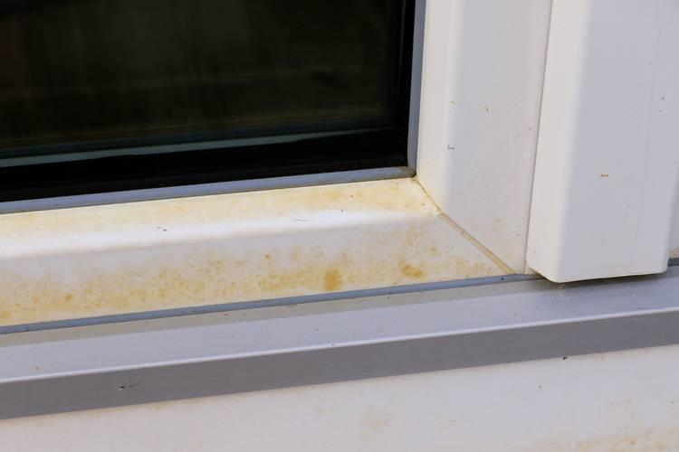 Super Woher kommen die gelben Flecken an Kunststofffenstern? - Haustec TZ21