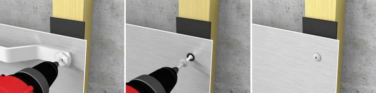 gro e fassadenplatten richtig montieren haustec. Black Bedroom Furniture Sets. Home Design Ideas