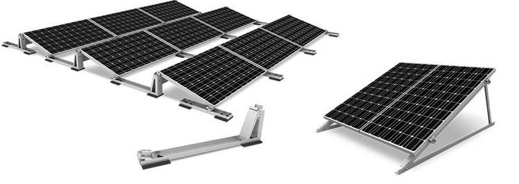 flexibel und schnell montiert photovoltaik systeme f rs flachdach haustec. Black Bedroom Furniture Sets. Home Design Ideas