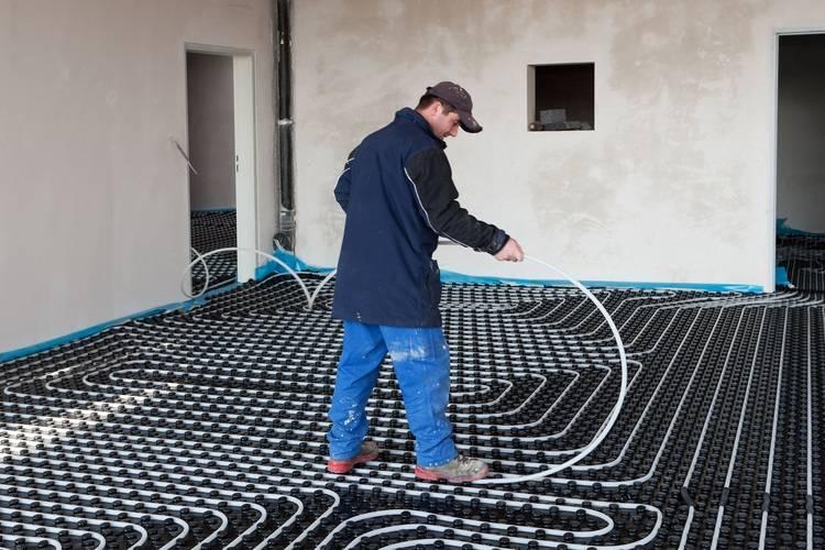 Top Basiswissen: Fußbodenheizung richtig auslegen - Haustec PS99