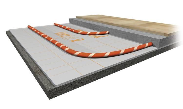 Fußbodenheizung Ohne Estrich ~ Fußbodenheizungen mit minimaler aufbauhöhe haustec