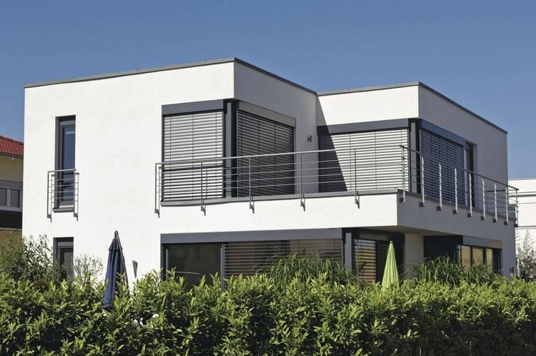 mit raffstoren thermischen und visuellen komfort steigern haustec. Black Bedroom Furniture Sets. Home Design Ideas