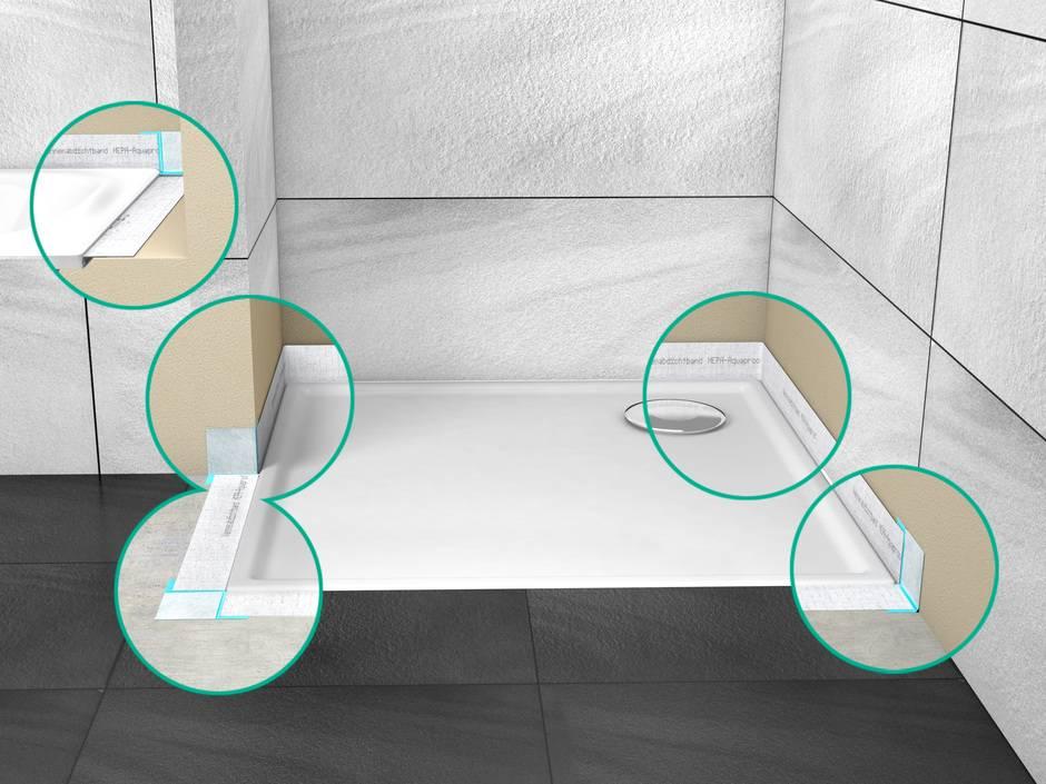 5 fragen zur din 18534 boden und wandfl chen in bad co. Black Bedroom Furniture Sets. Home Design Ideas