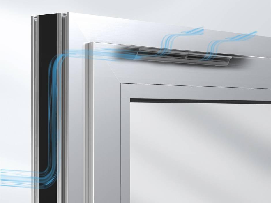 Selbstregulierende fensterl fter ventoframe und ventoair for Fenster 0 finanzierung