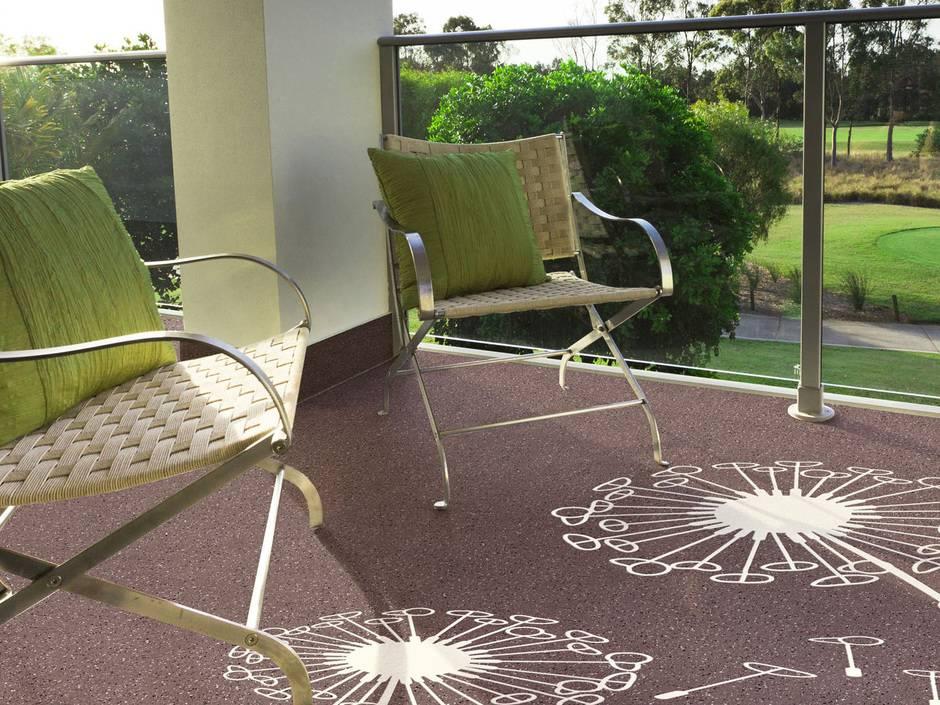 tattoos f r balkon und terrasse mit fl ssigkunststoff akzente setzen haustec. Black Bedroom Furniture Sets. Home Design Ideas
