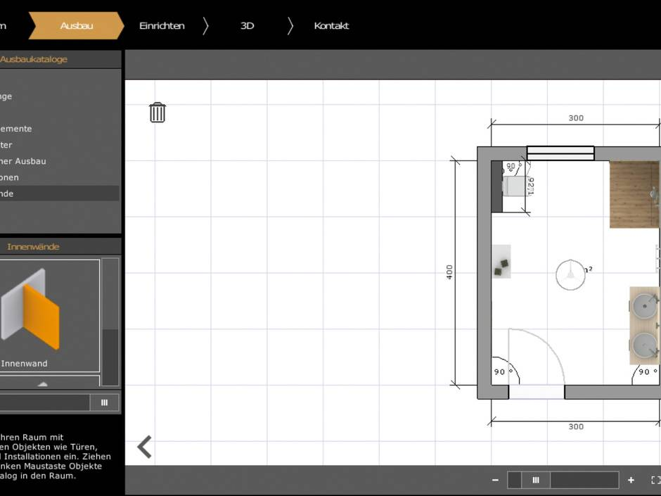 Elements gc gruppe bietet 3d badplaner f r endverbraucher for 3d badplaner