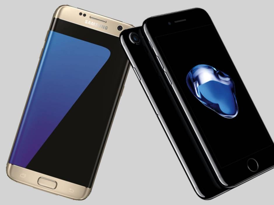 galaxy s7 oder iphone 7 welches ist das beste smartphone. Black Bedroom Furniture Sets. Home Design Ideas