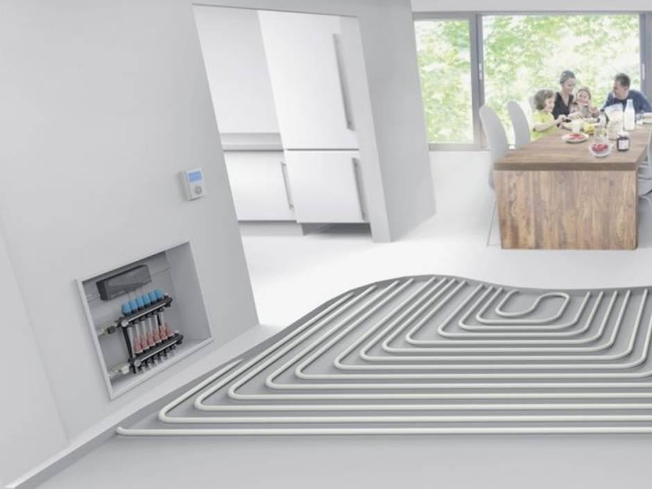 So passt die Fußbodenheizung ins Energiesparhaus - Haustec