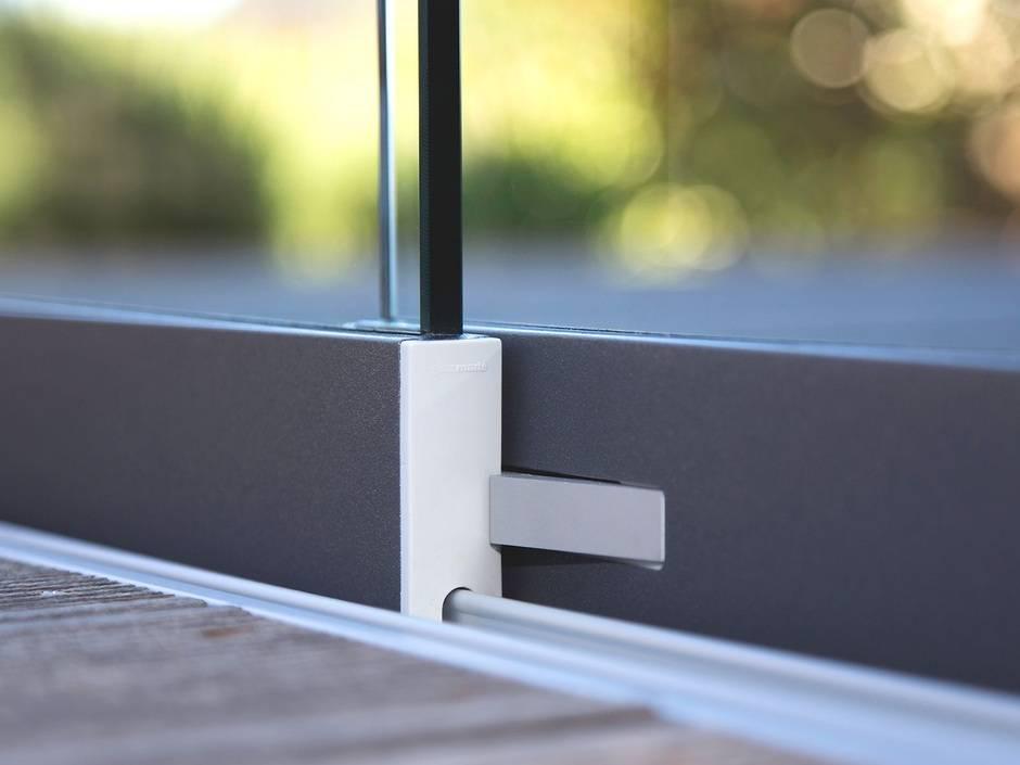 mehr beschlagkomfort f r schiebegl ser von glas marte haustec. Black Bedroom Furniture Sets. Home Design Ideas
