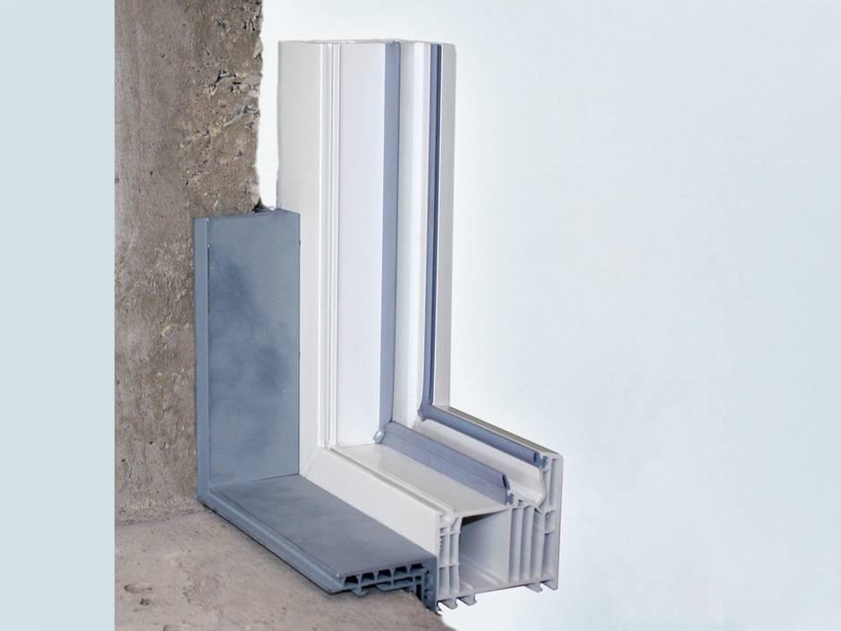 f r hohe sicherheit montagezarge aus aluminium von foppe foppe haustec. Black Bedroom Furniture Sets. Home Design Ideas