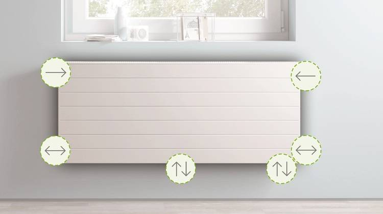 flexibel anschlie bar kermi flachheizk rper therm x2. Black Bedroom Furniture Sets. Home Design Ideas
