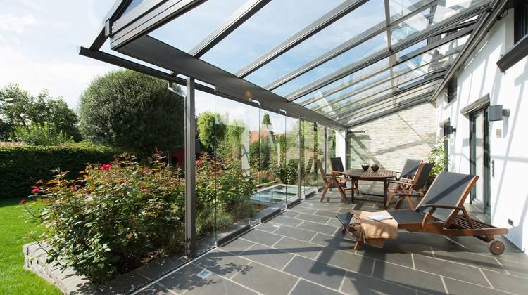 Solarlux Melle vielseitiges terrassendach sdl atrium solarlux haustec
