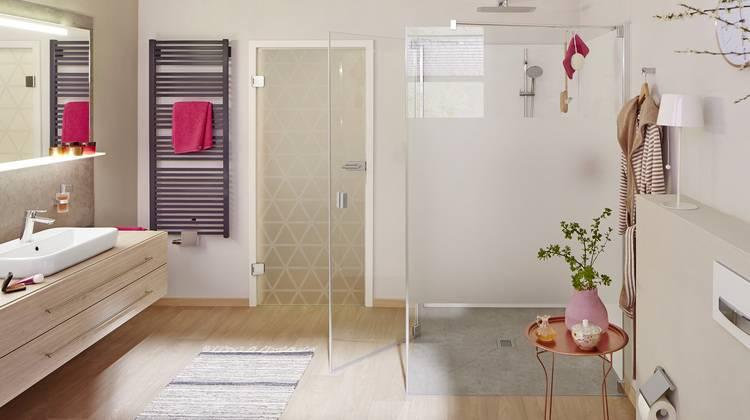 dusche kermi. Black Bedroom Furniture Sets. Home Design Ideas