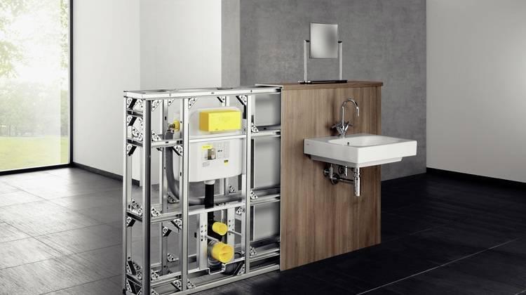 waschbecken rohre verkleiden. Black Bedroom Furniture Sets. Home Design Ideas