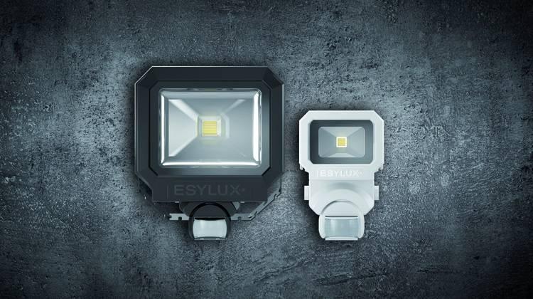 Esylux Intelligente Led Aussenbeleuchtung Mit Bewegungsmelder Haustec