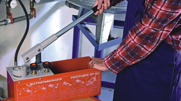 Dichtheitsprüfungen von Trinkwasser-Installationen - Haustec