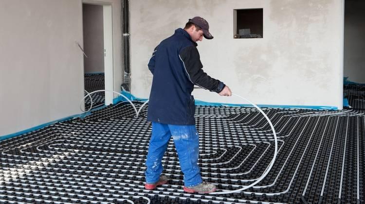 5 Fehler bei der Verlegung von Fußbodenheizungen