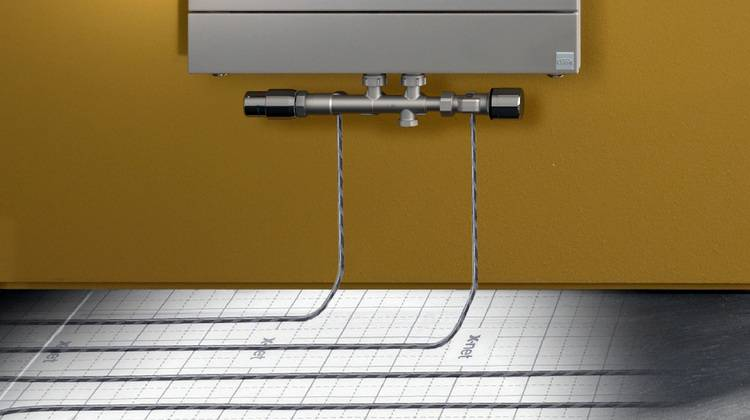 x link plus anschlussgarnitur f r kompaktheizk rper haustec. Black Bedroom Furniture Sets. Home Design Ideas