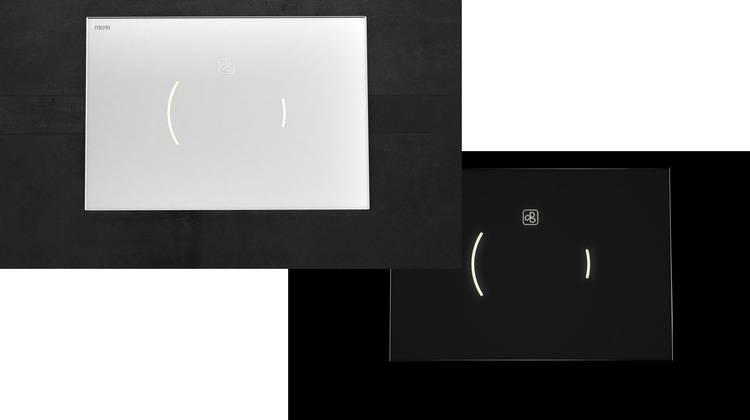 Mepa Elektronische Wc Betatigungsplatte Zero Lumo Haustec