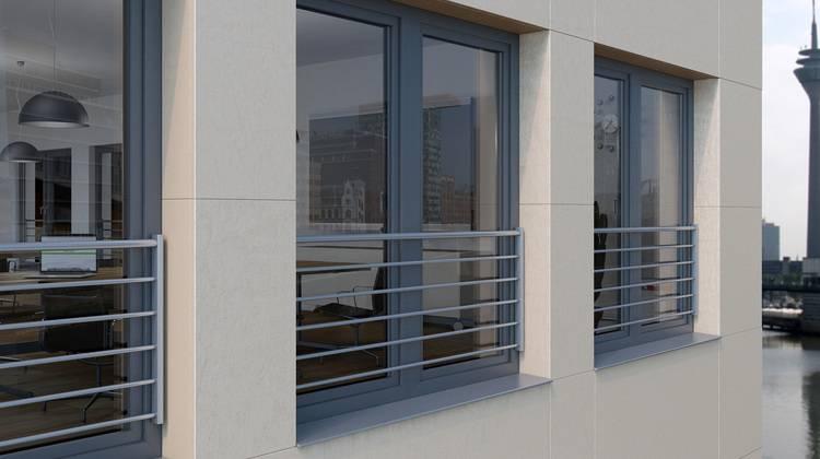 Sch co absturzsicherungen f r kunststoff fenster haustec for Fenster bodentief