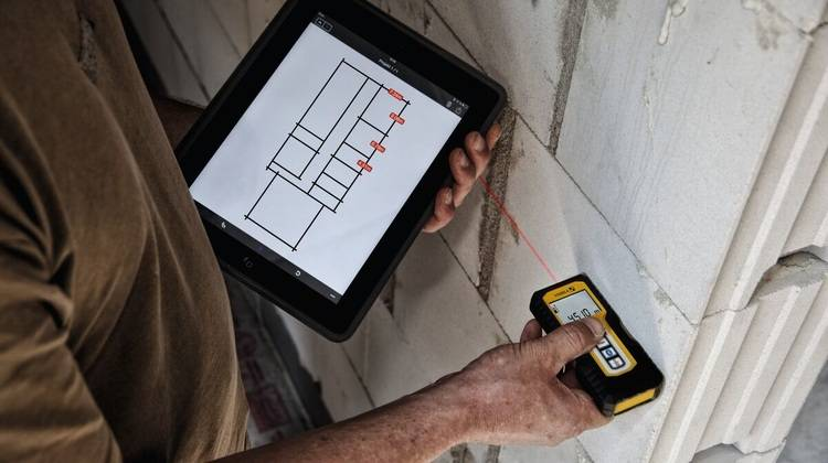 Iphone Entfernungsmesser Bedienungsanleitung : Messen und dokumentieren: aufmaß app stabila measures haustec