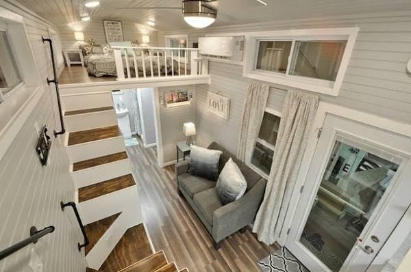 das sind die buntesten und kreativsten tiny houses haustec. Black Bedroom Furniture Sets. Home Design Ideas