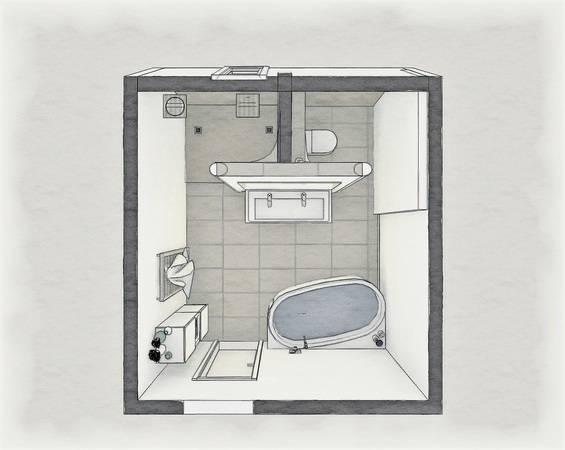 So gelingt die Badgestaltung mit frei stehenden Sanitärwänden - Haustec