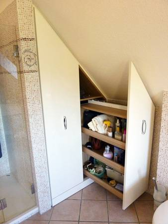 Bild 9: Auszüge Unter Dachschrägen Nutzen Jeden Sonst Verschenkten Raum Und  Ermöglichen Eine Gute Bedienbarkeit