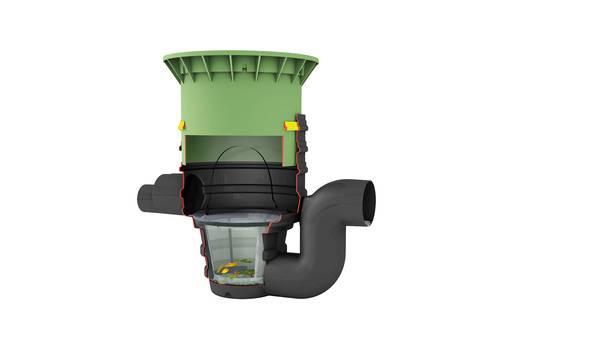 graf drainstar filter f r sicker tunnel haustec. Black Bedroom Furniture Sets. Home Design Ideas