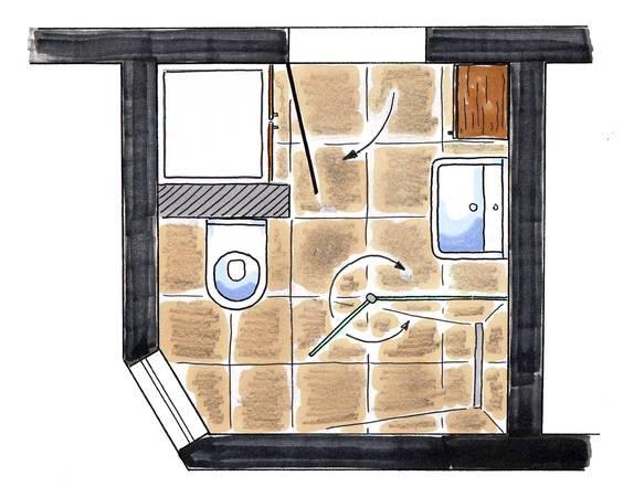 Charmant Eine Im Raum Stehende Vorwandinstallation Eignet Sich Gut, Um Eine  Waschmaschine Geschickt Im Bad Zu