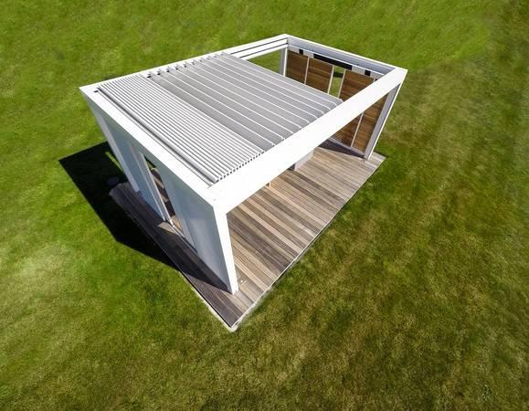 Renson: Terrassenüberdachungen mit Lamellenflachdach - Haustec