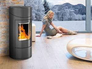 smart und rund pelletofen hsp 7 von haas sohn individuelle glasl sungen von fachbetrieben im. Black Bedroom Furniture Sets. Home Design Ideas